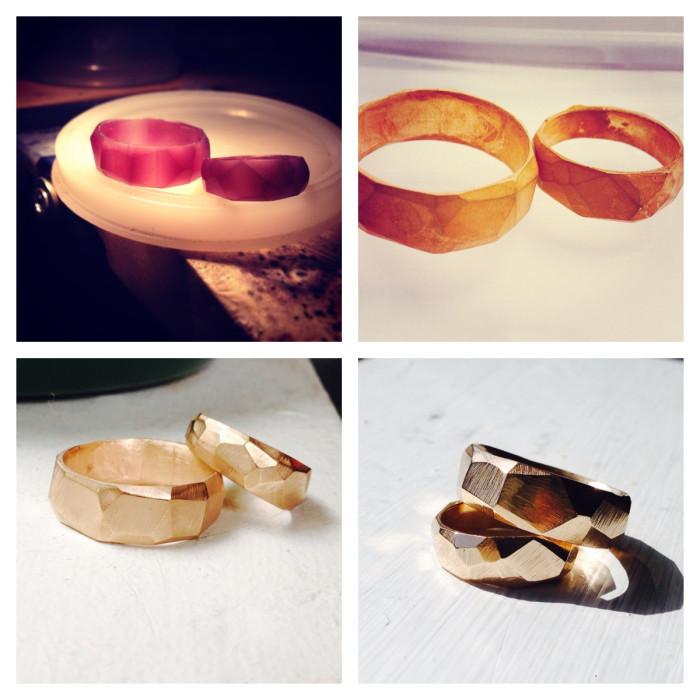 Constellation Wedding Rings