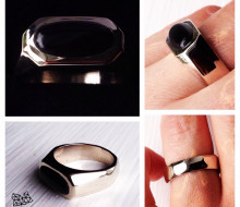 Jenny & Aki's wedding rings