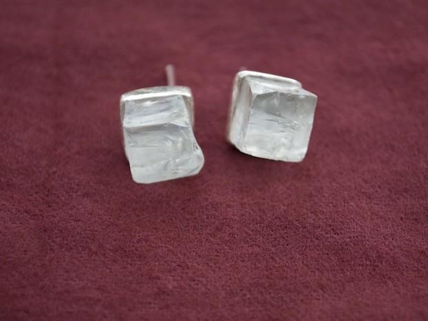 shop window glass earrings